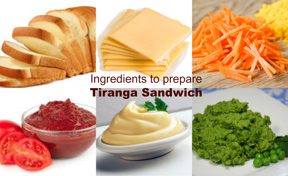 TirangaSandwichIngredientsList
