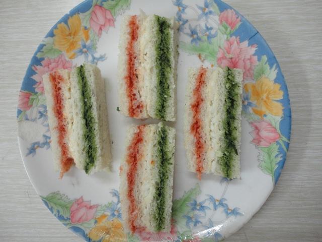TirangaSandwich
