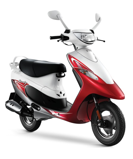 2016 TVS Scooty Pep Plus Red