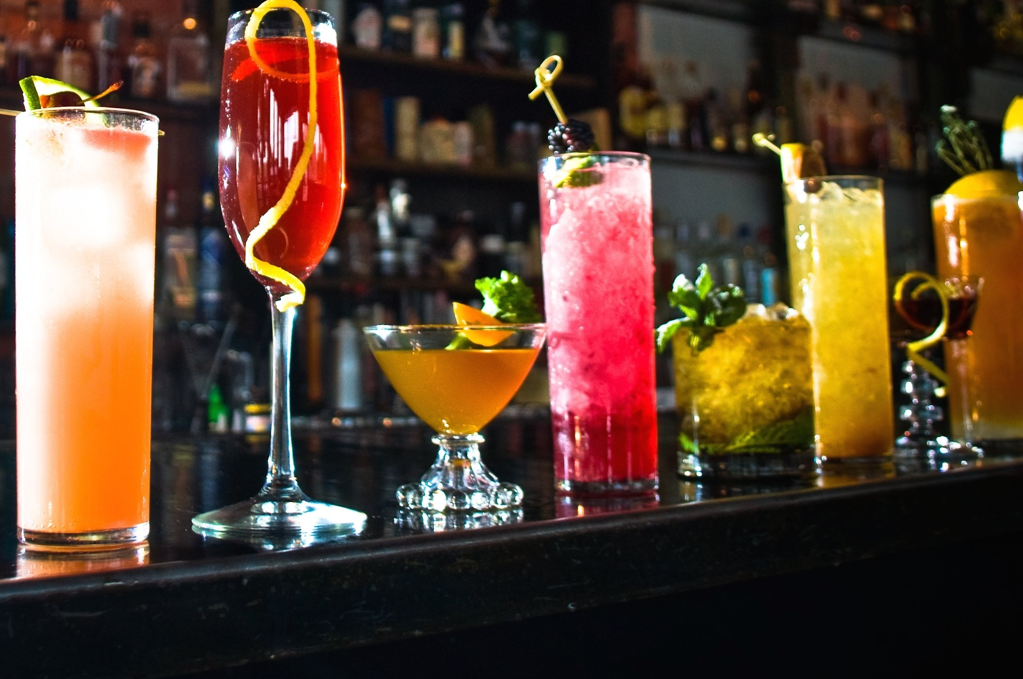 Excess of cocktails are harmful but try these 7 for a for Best mixed drinks for parties