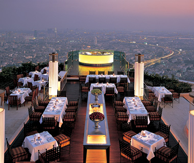 Dine Out at Rooftop Restaurants