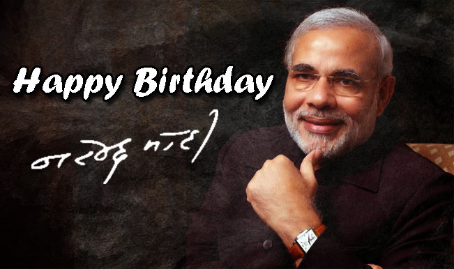 Happy Birthday Mr Narendra Modi