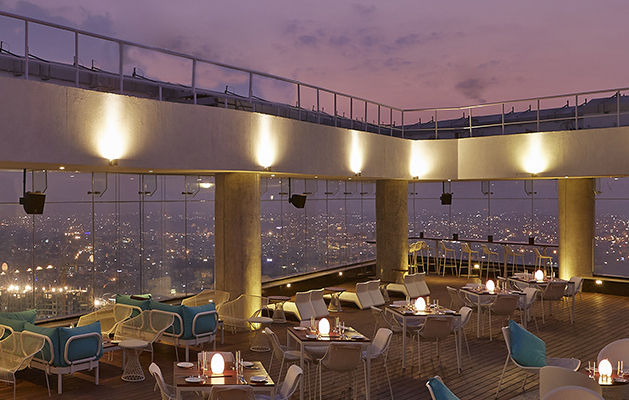 Make a visit to 11 ultimate rooftop restaurants in for Terrace restaurants in bangalore