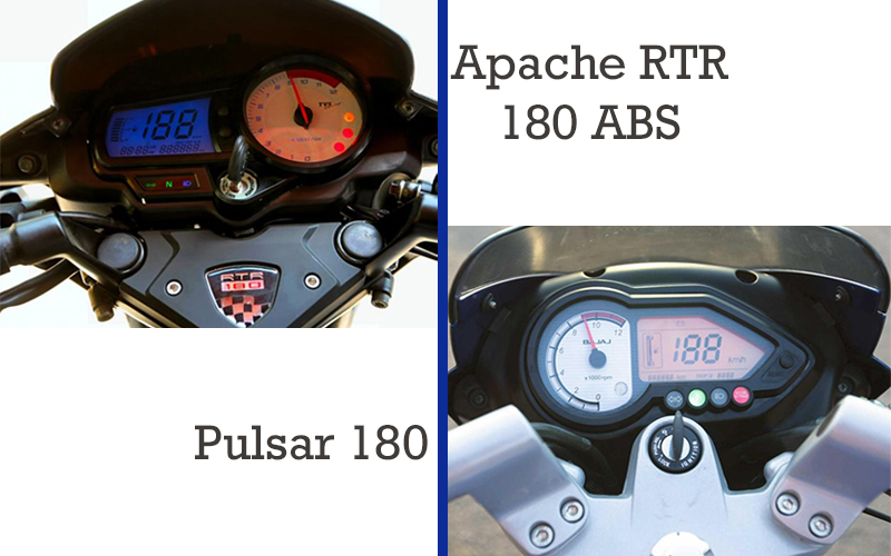 apache rtr 180 pulsar 180 instrument cluster