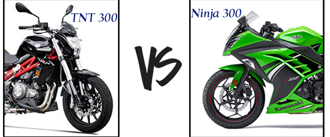 TNT 300 vs Ninja 300 Design and Style