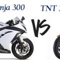 ninja 300 vs tnt 300
