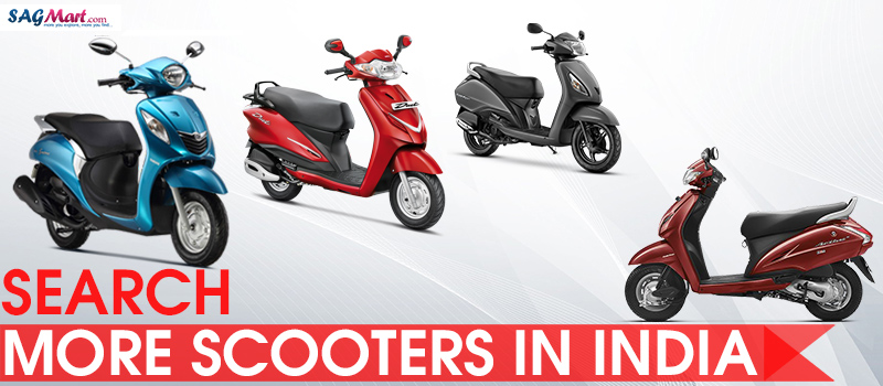 scooters in india