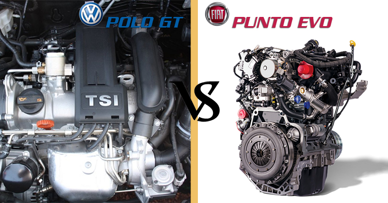 Engine-and-Power - Fiat Punto Vs Volkswagen Polo