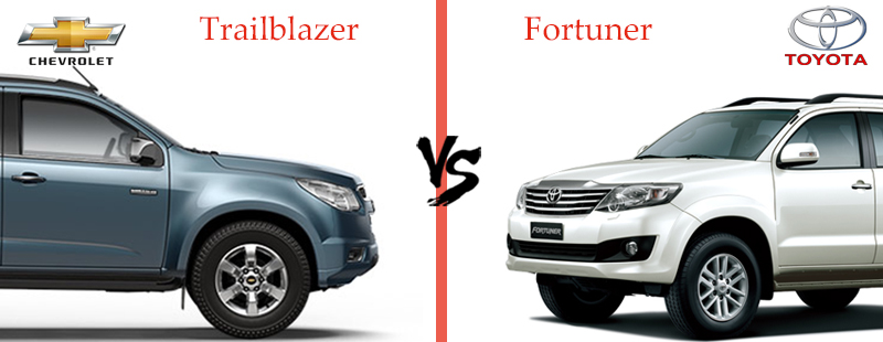 Style-and-Design - Chevrolet Trailblazer vs Toyota Fortuner
