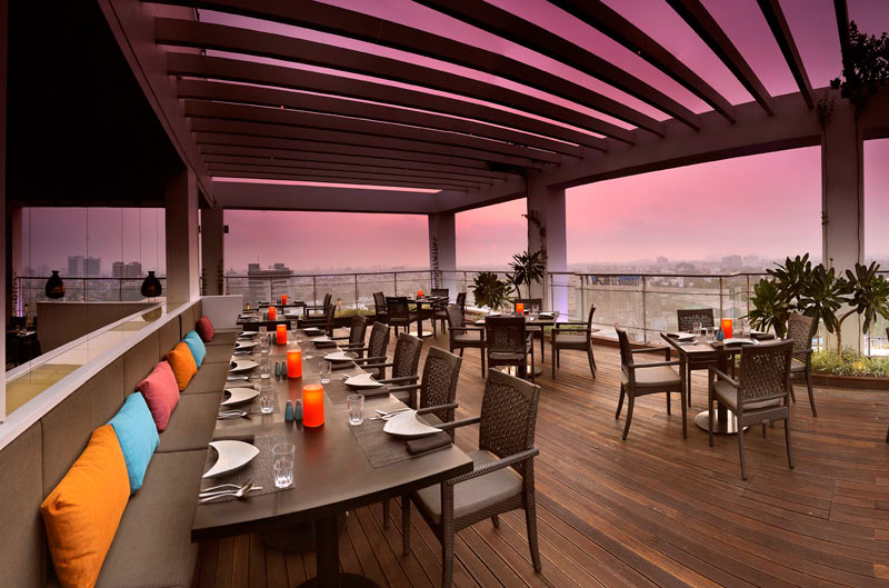 Take an amazing experience of chennai via rooftop for Terrace grill
