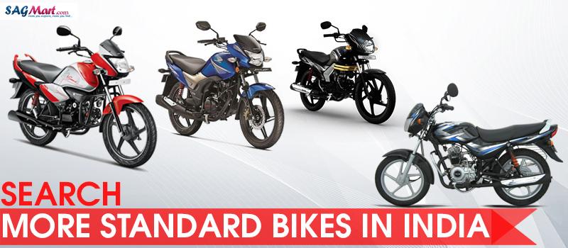 100cc to 150cc standard bikes