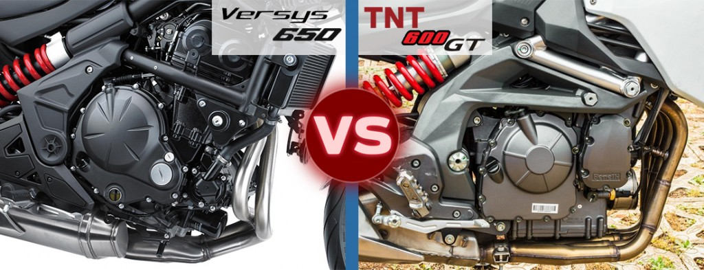 versys 650 vs tnt 600 gt engine power