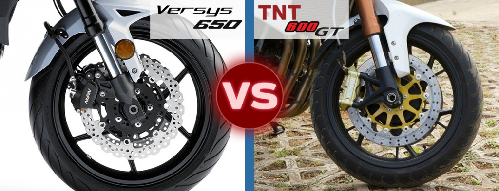 versys 650 vs tnt 600 gt safety features