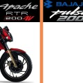 TVS Apache RTR 200 VS Bajaj Pulsar 200NS