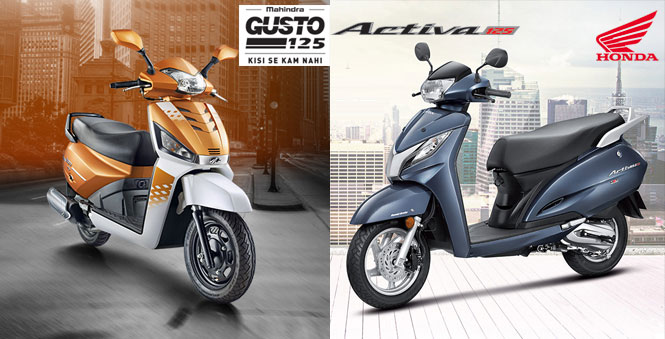 Mahindra Gusto 125 VS Honda Activa 125