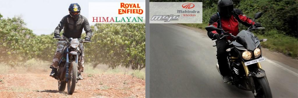 himalayan and mojo handling and riding