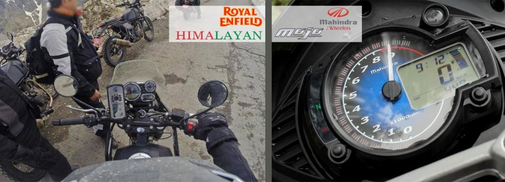 himalayan and mojo intrument panel