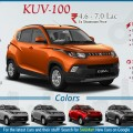 Mahindra KUV 100 Infographic
