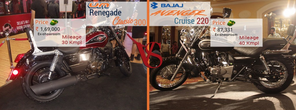 classic 300 vs cruise 220 price and mileage