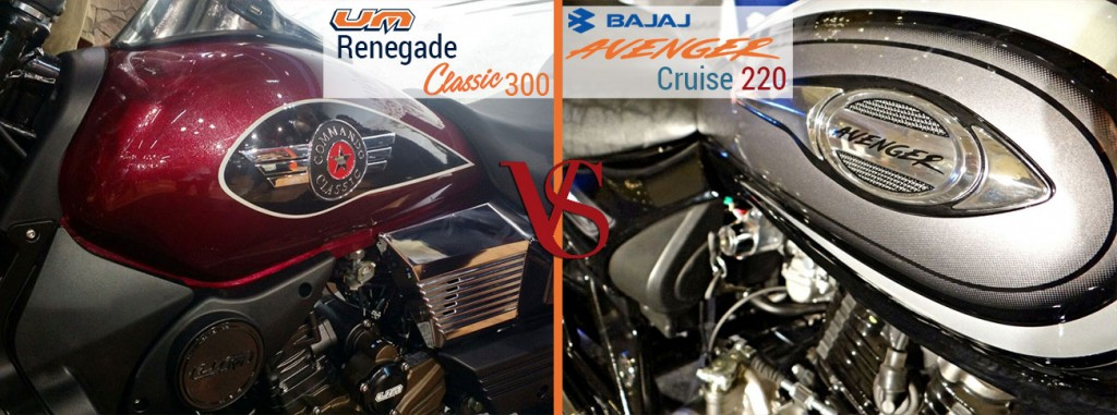 UM Renegade Classic 300, Royal Enfield Classic 350Design and Style
