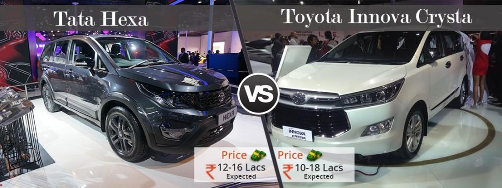 Hexa-VS-Innova-Crysta-Price