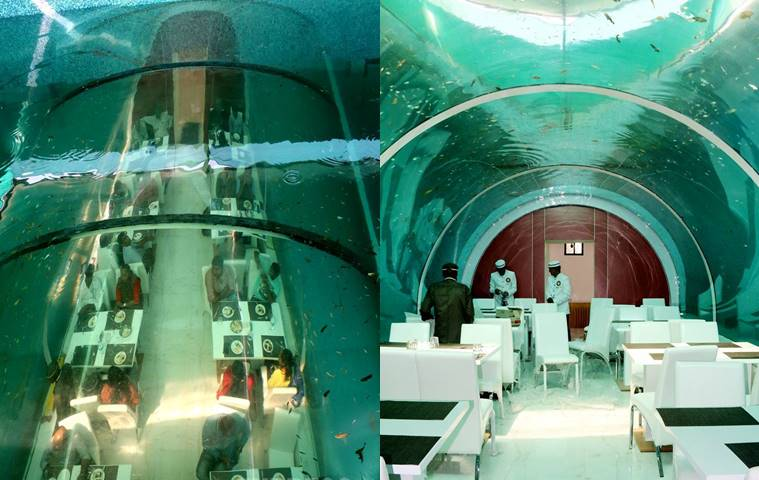 Real poseidon india s first underwater restaurant in ahmedabad