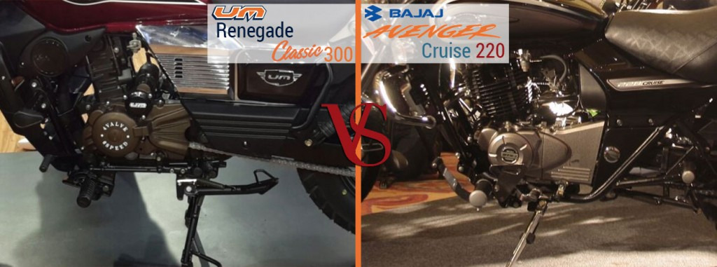 UM Renegade Classic 300 VS Royal Enfield Classic 350 pwer and performance