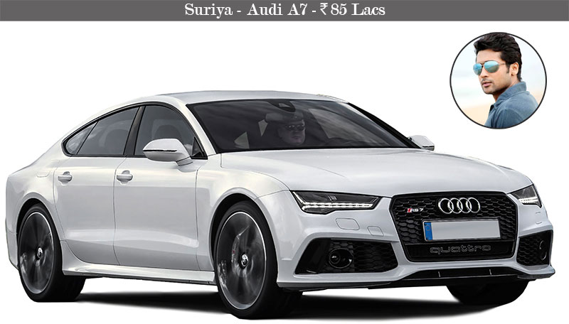 Suriya-Audi-A7