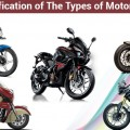 classification types of motorcycles