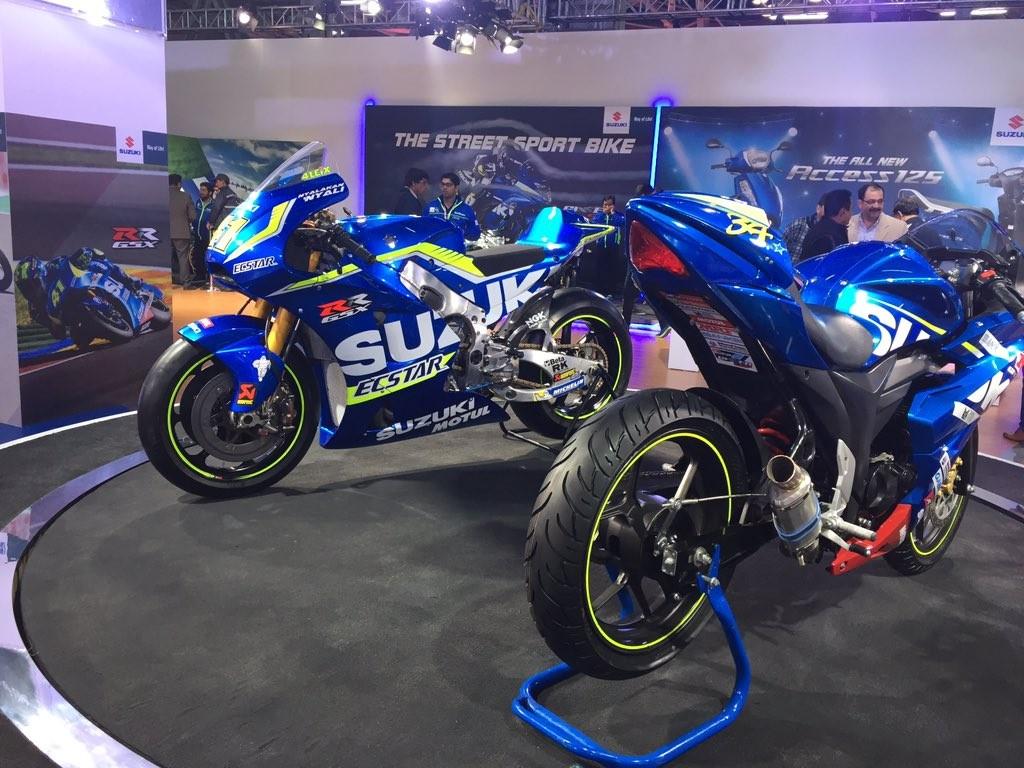 suzuki racing auto expo