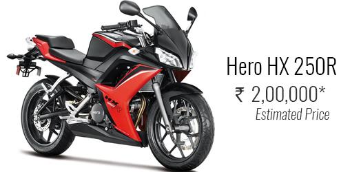 Hero HX 250R
