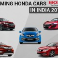 Honda Upcoming Cars in India 2016-17