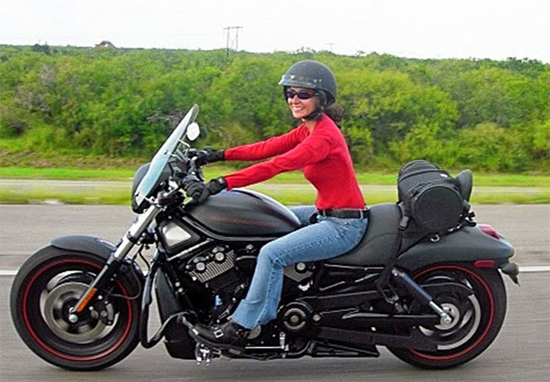 heavy motorcycle smooth ride