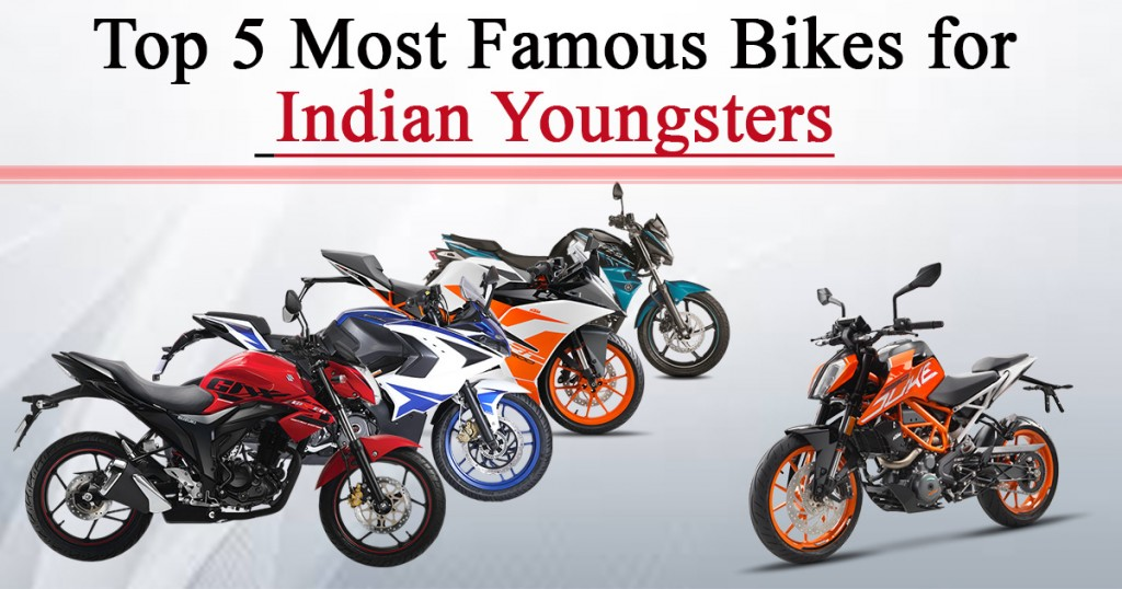 Most Famous Bikes for Indian Youngsters