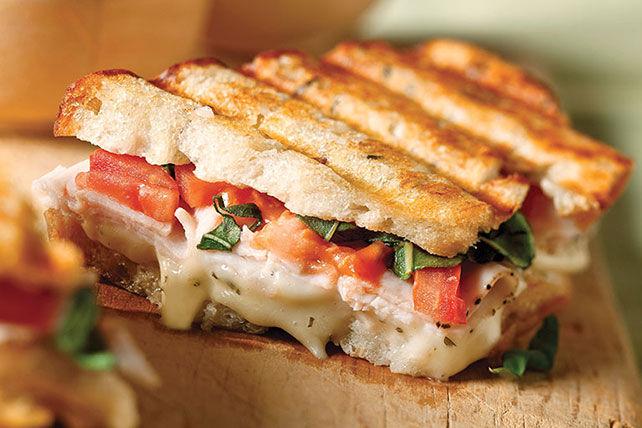 Bruschetta with multigrain bread