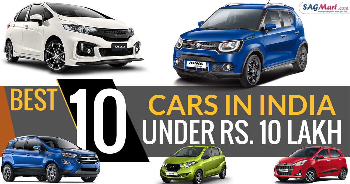 Cars Under 10 Lakh