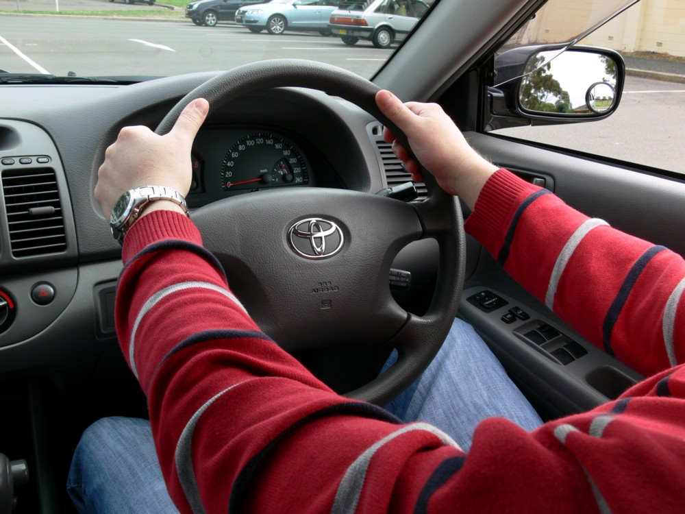 Control Over the Steering Wheel