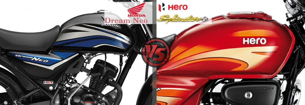 Design and Style: Honda Dream Neo VS Hero Splendor Plus
