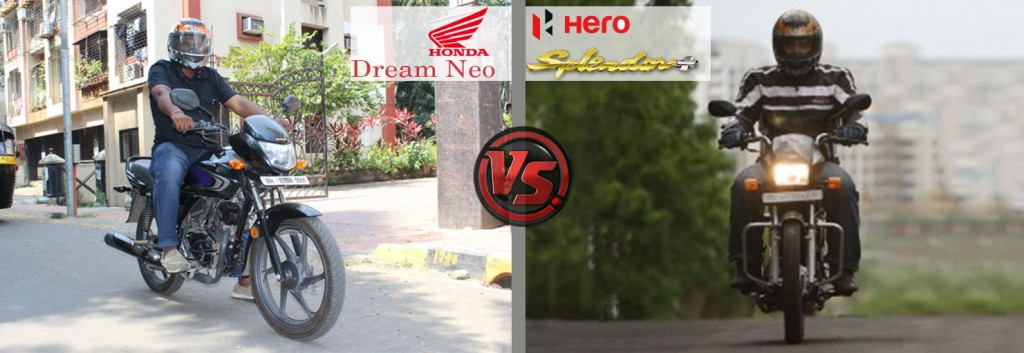 Riding And Handling: Honda Dream Neo VS Hero Splendor Plus