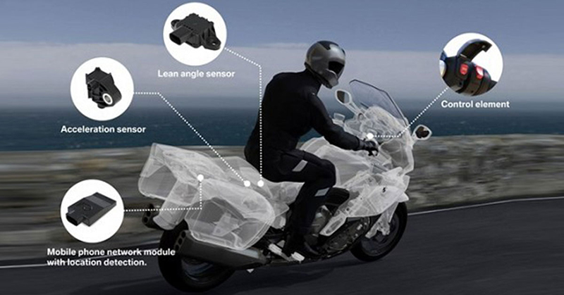 BMW Motorrad Intelligent Emergency Call system