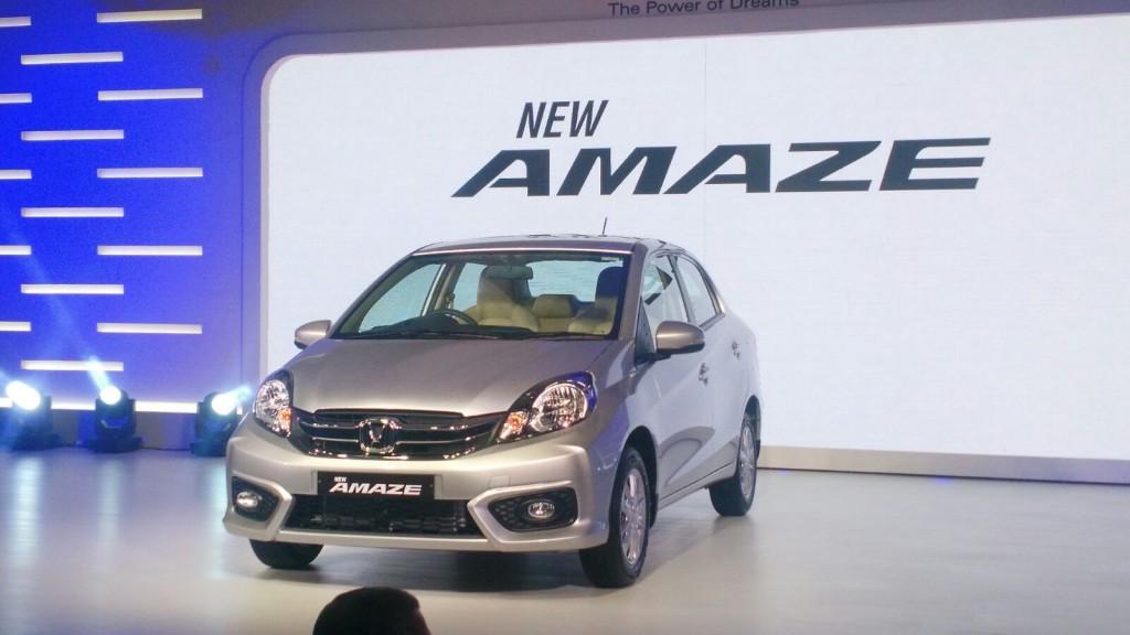New Honda Amaze Facelift 2016