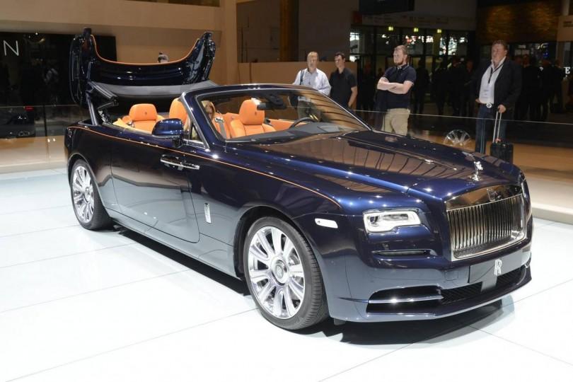Rolls Royce Dawn India 2016