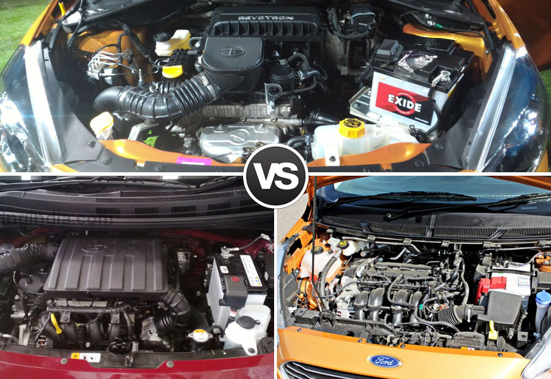 Tiago-VS-Grand-i10-VS-Figo-Engine