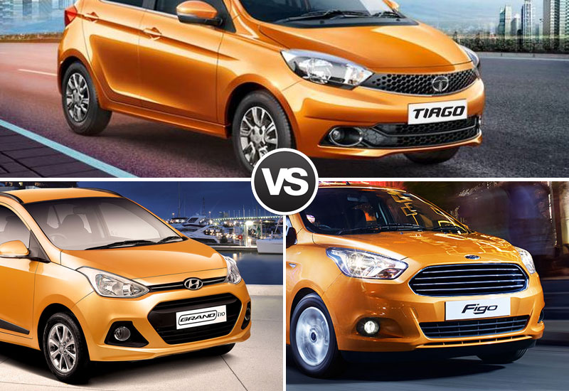 Tiago-VS-Grand-i10-VS-Figo-Style-&-Design