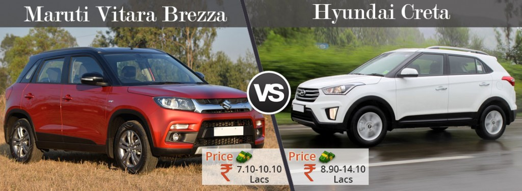 Vitara-Brezza-VS-Creta-Price