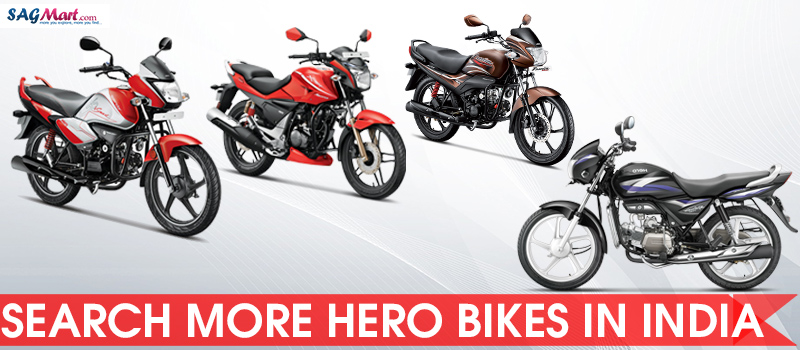 Hero New Bikes in India