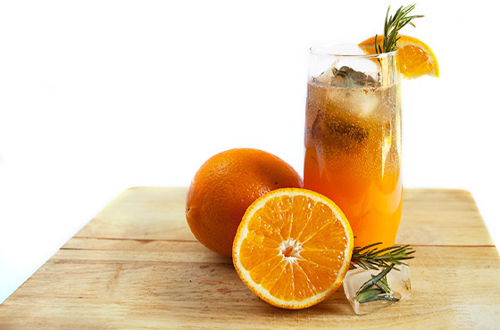 rosemary orange cooler