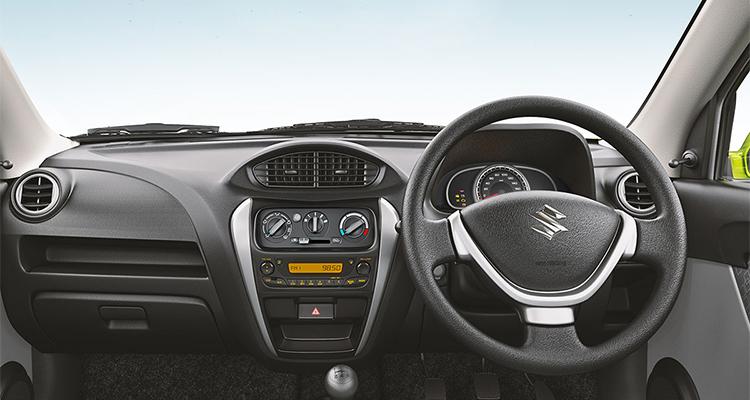 Maruti Alto 800 Facelift Interior Details