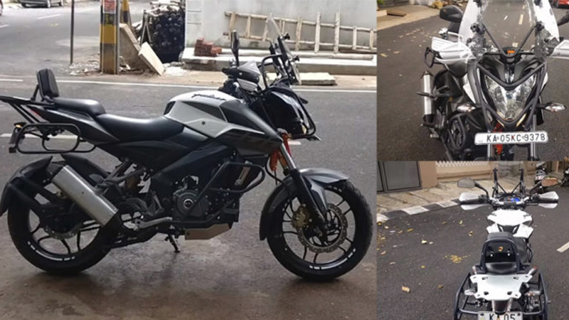 Bajaj Pulsar NS200 Gets Triumph Tiger Inspired Makeover
