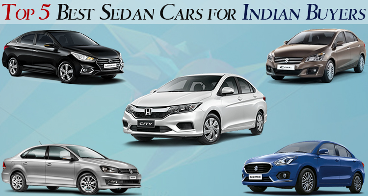 Top 5 Best Sedan Cars For Indian Buyers | SAGMart